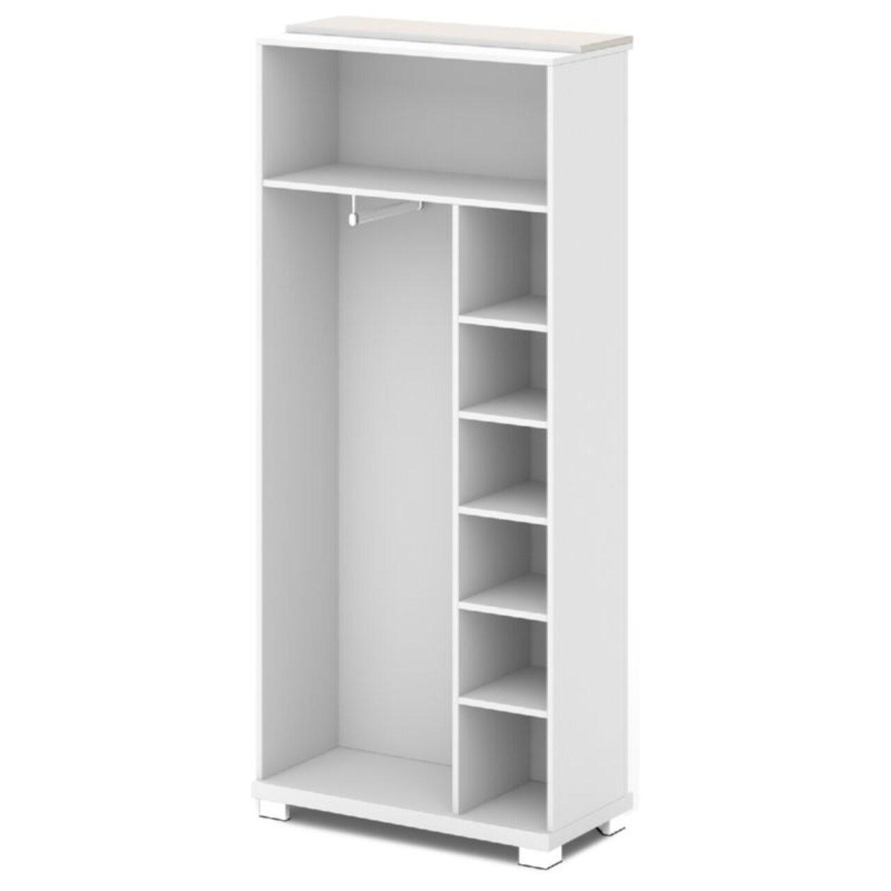 Каркас шкафа для одежды центральный  GRACE 90x44x205 - фото 7