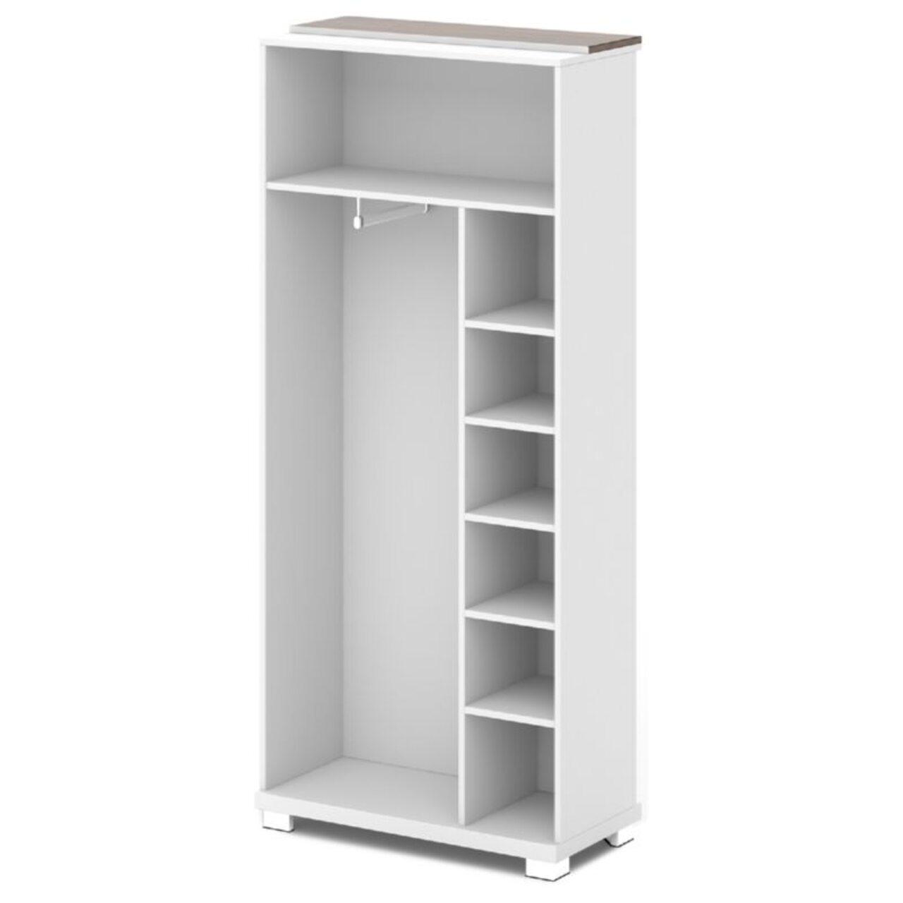 Каркас шкафа для одежды центральный  GRACE 90x44x205 - фото 6