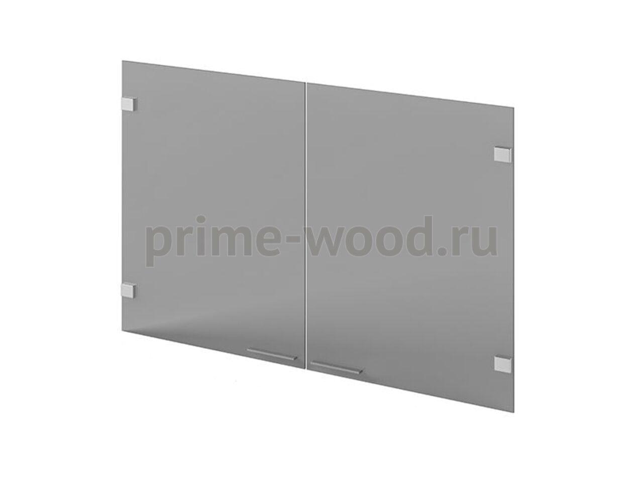 Двери стеклянные ( 2 шт) Инновация 55x1x70 - фото 1
