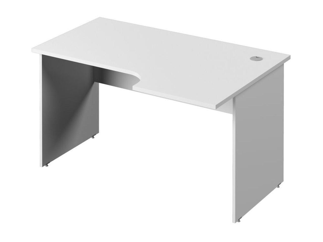 Стол эргономичный с опорами из ЛДСП  (правый) Public Comfort 135x52x71 - фото 1