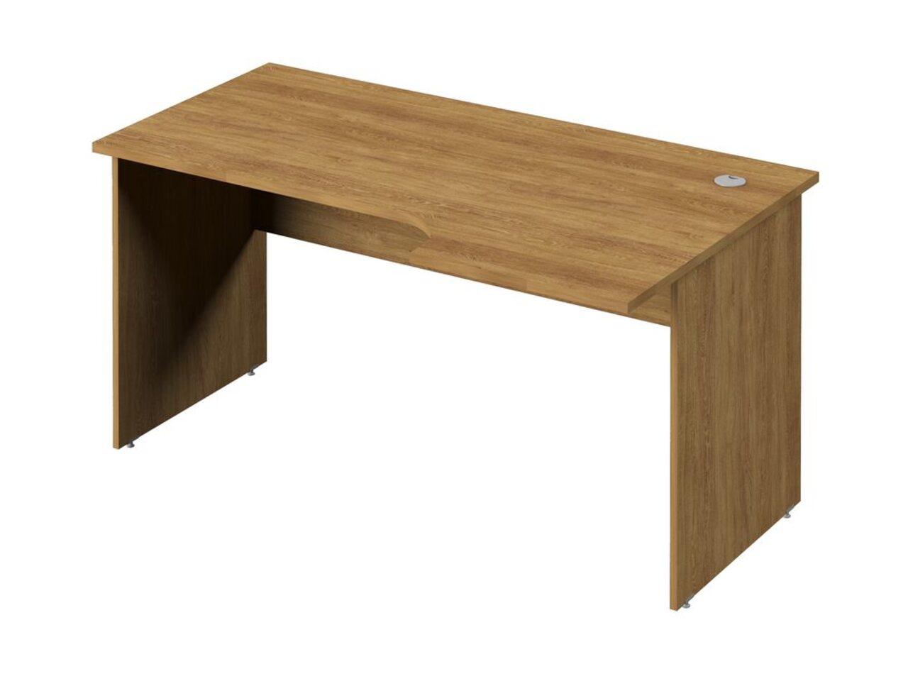 Стол эргономичный с опорами из ЛДСП  (правый) Public Comfort 150x52x71 - фото 3