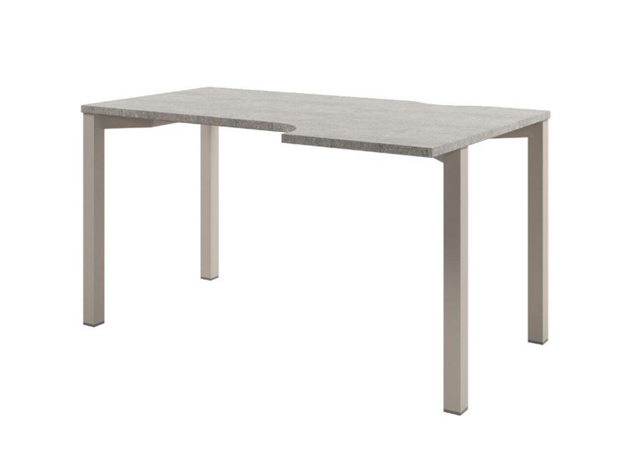 Стол на металлокаркасе  Solution 140x70x75 - фото 1