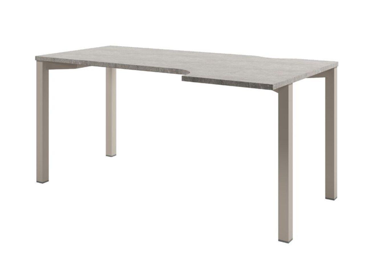 Стол на металлокаркасе  Solution 160x70x75 - фото 1