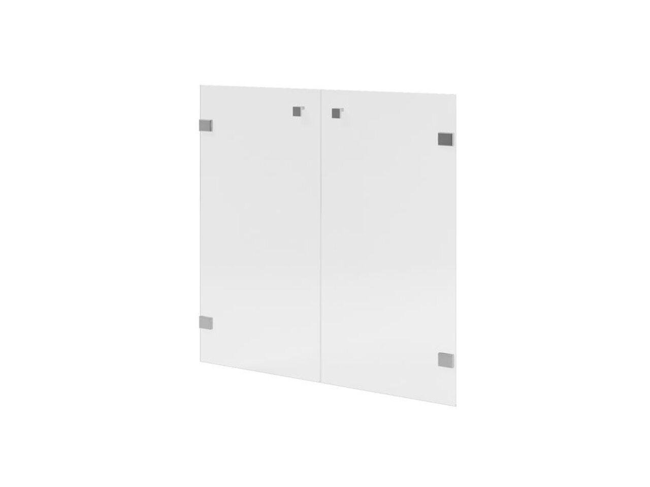 Двери низкие с матовым белым стеклом  Space 79x1x77 - фото 1
