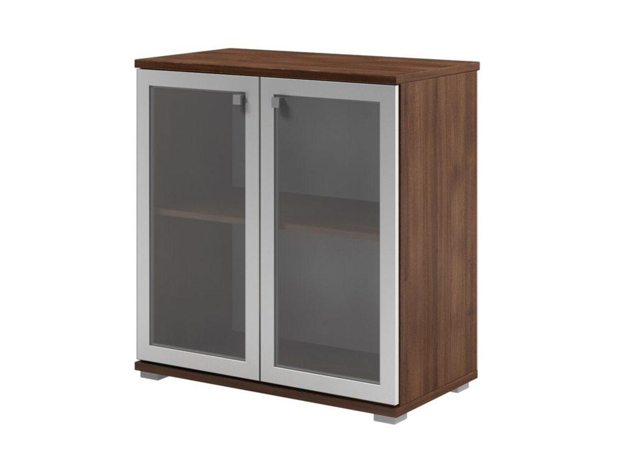 Шкаф с матовым белым стеклом  Space 80x43x84 - фото 1