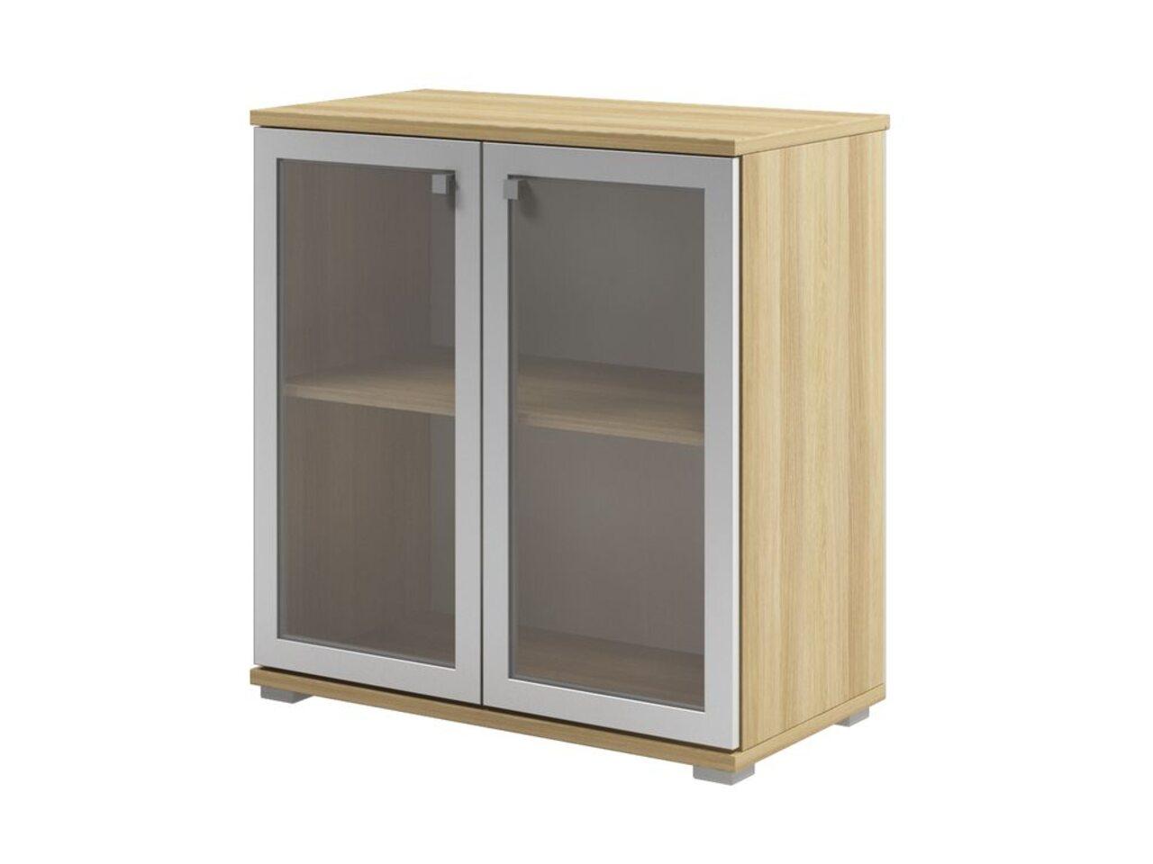 Шкаф с матовым белым стеклом  Space 80x43x84 - фото 3
