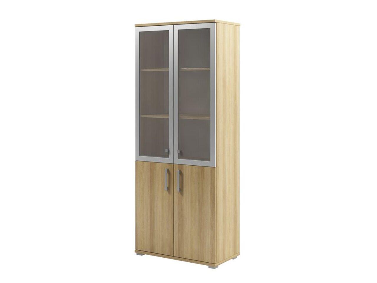 Шкаф с матовым белым стеклом  Space 80x43x200 - фото 3