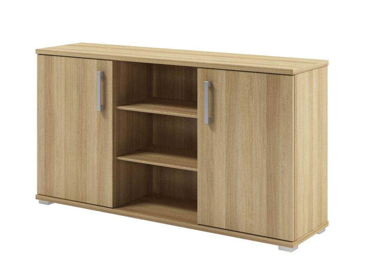 Шкаф приставной к двум столам  Space 134x35x73 - фото 3