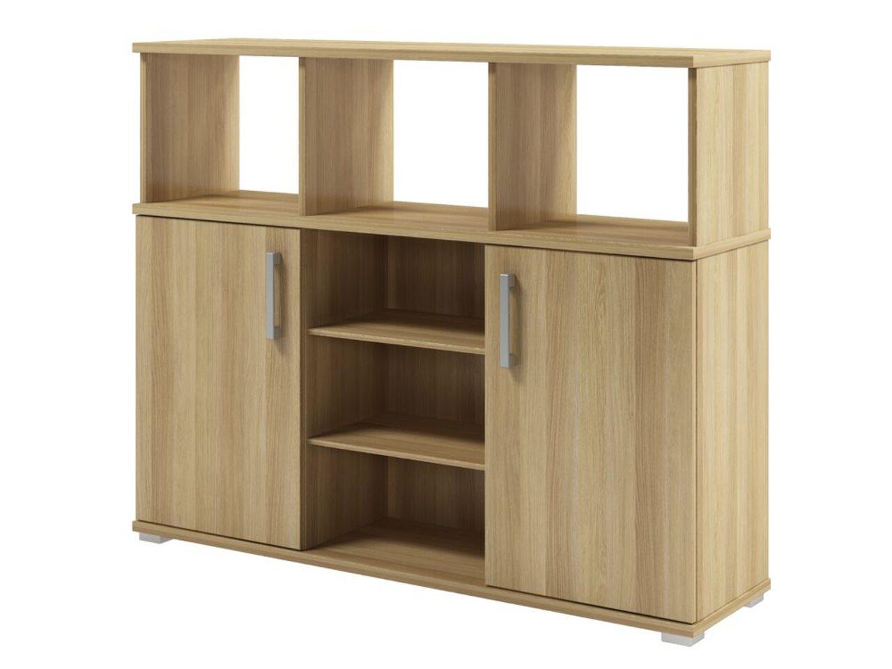 Шкаф приставной к двум столам  Space 134x35x108 - фото 3