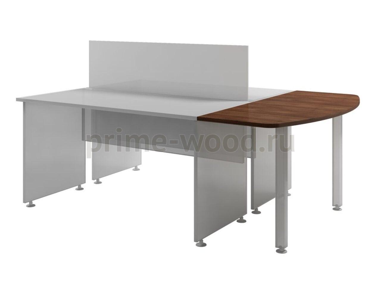 Столешница к двум столам  Space 136x60x3 - фото 1