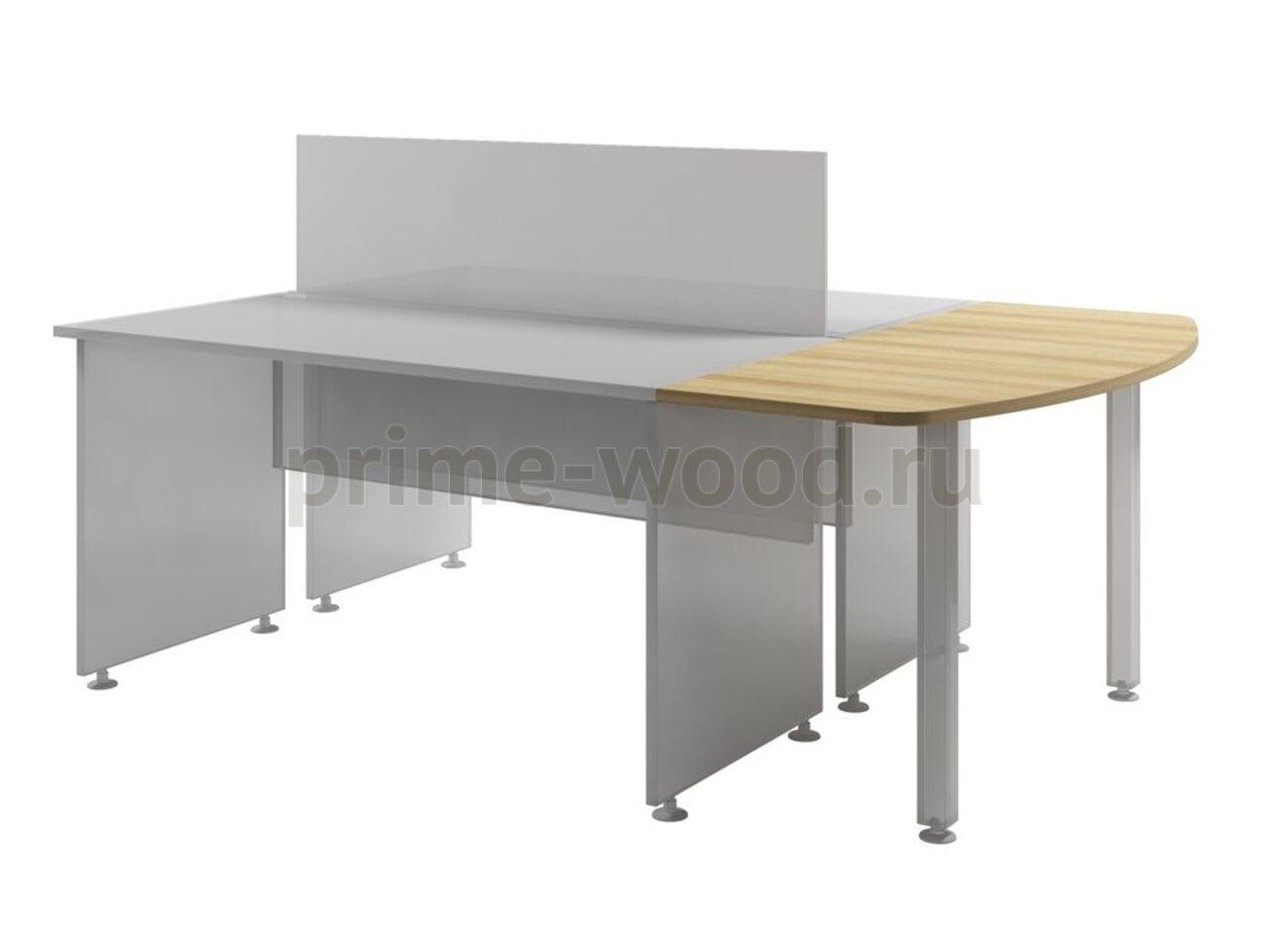 Столешница к двум столам  Space 136x60x3 - фото 3