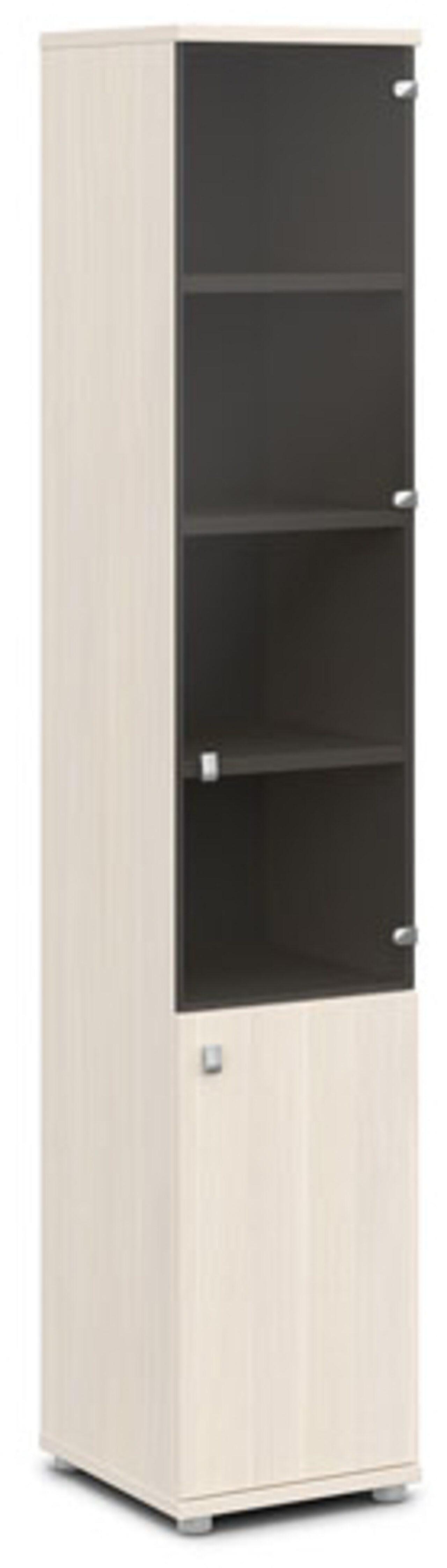 Шкаф со стеклом   (правый) Vasanta 42x44x220 - фото 4
