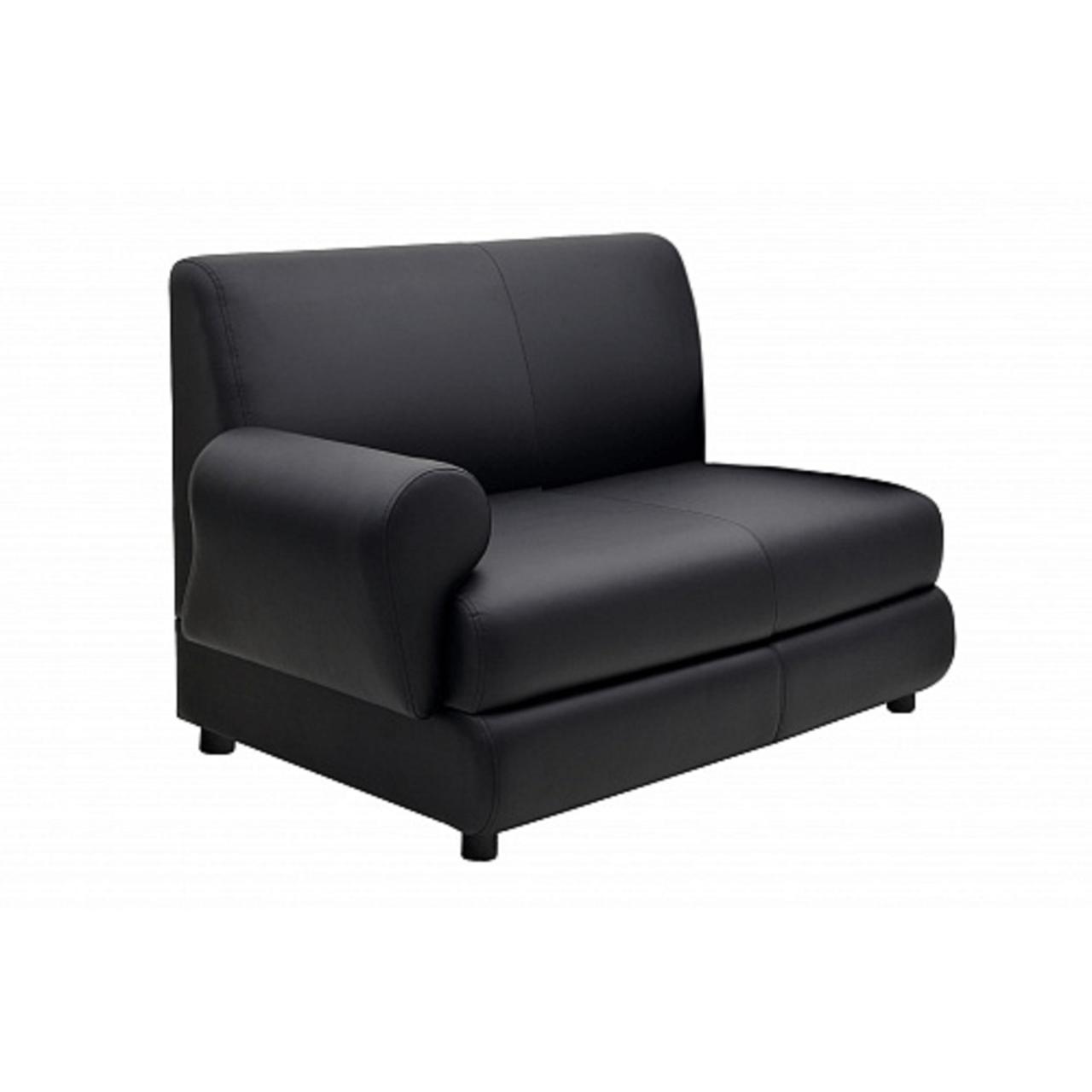 2-х местная диванная секция с подлокотником прав  M-04 Берн 130x82x85 - фото 1