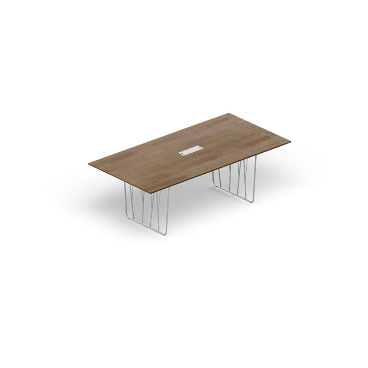Стол для переговоров Deck Meeting 240x120x75 - фото 1