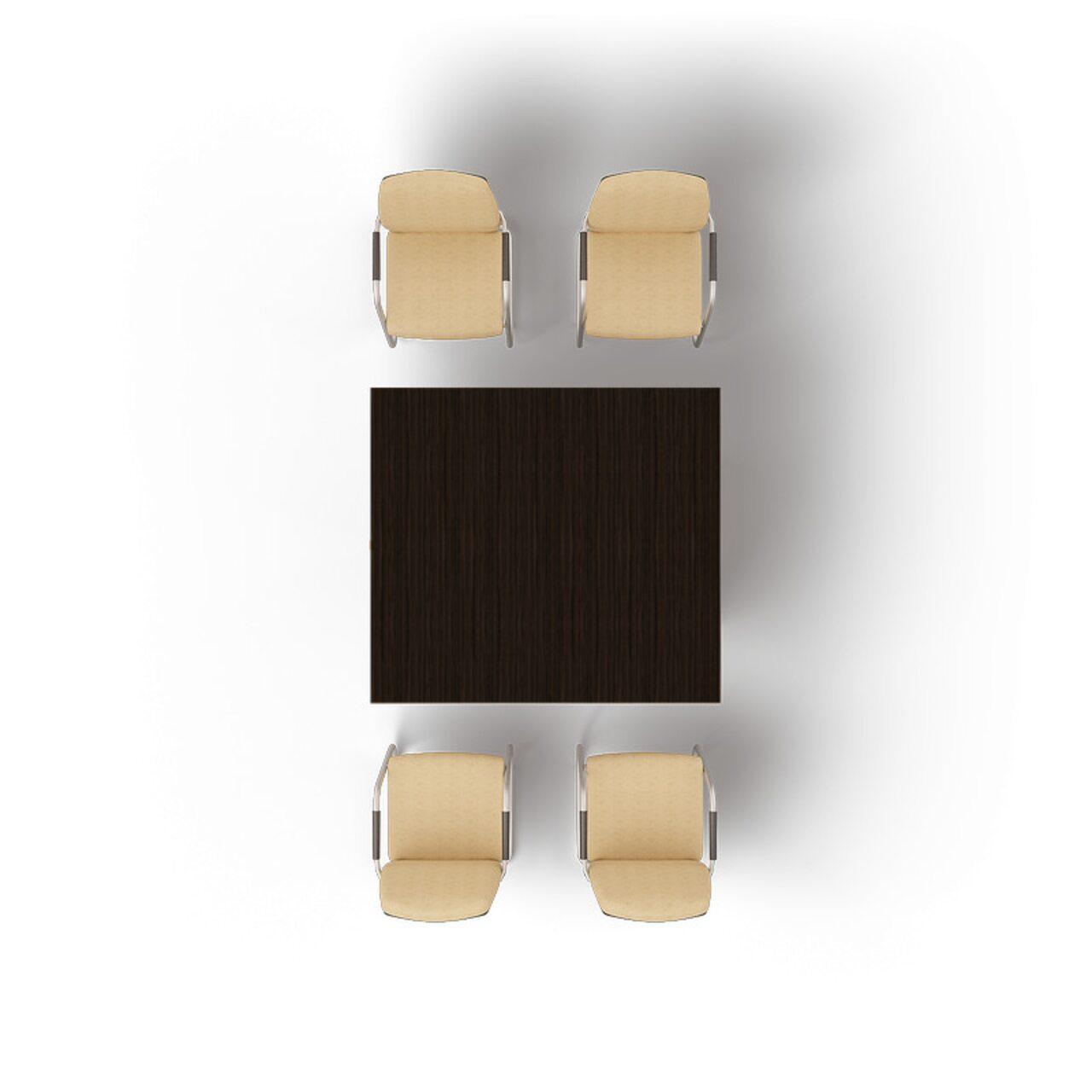 Стол для совещаний Multimeeting 140x126x74 - фото 1