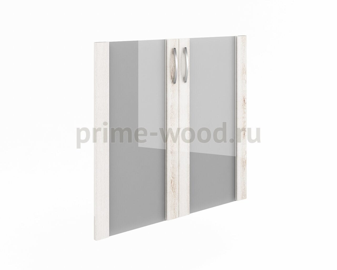 Дверь низкая стекло в рамке МДФ  Консул-ЛАК  - фото 1