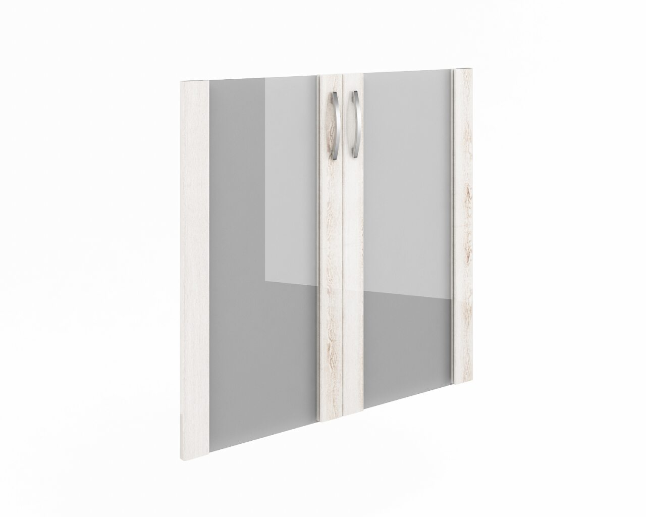 Дверь низкая стекло в рамке МДФ  КОНСУЛ II 40x2x77 - фото 1