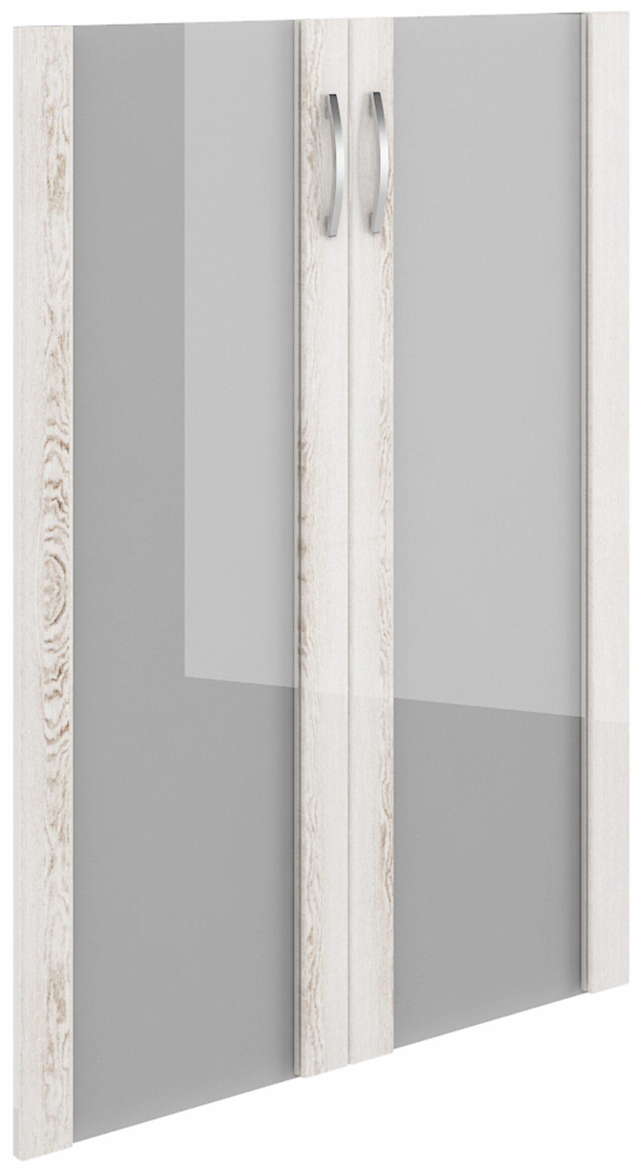 Дверь средняя стекло в рамке МДФ  Консул-ЛАК  - фото 1