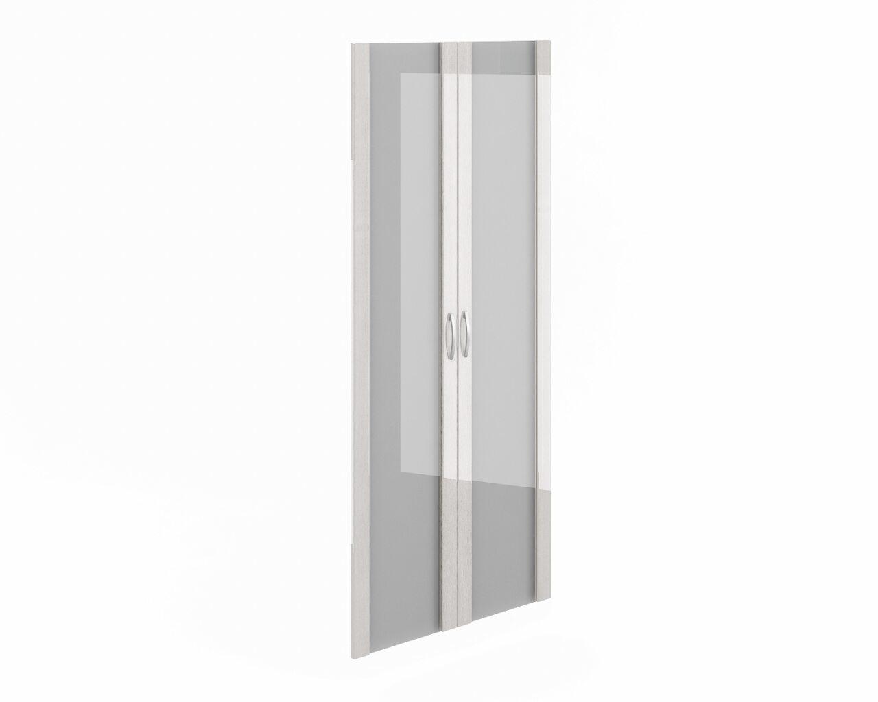 Дверь высокая стекло в рамке МДФ  Консул-ЛАК  - фото 1