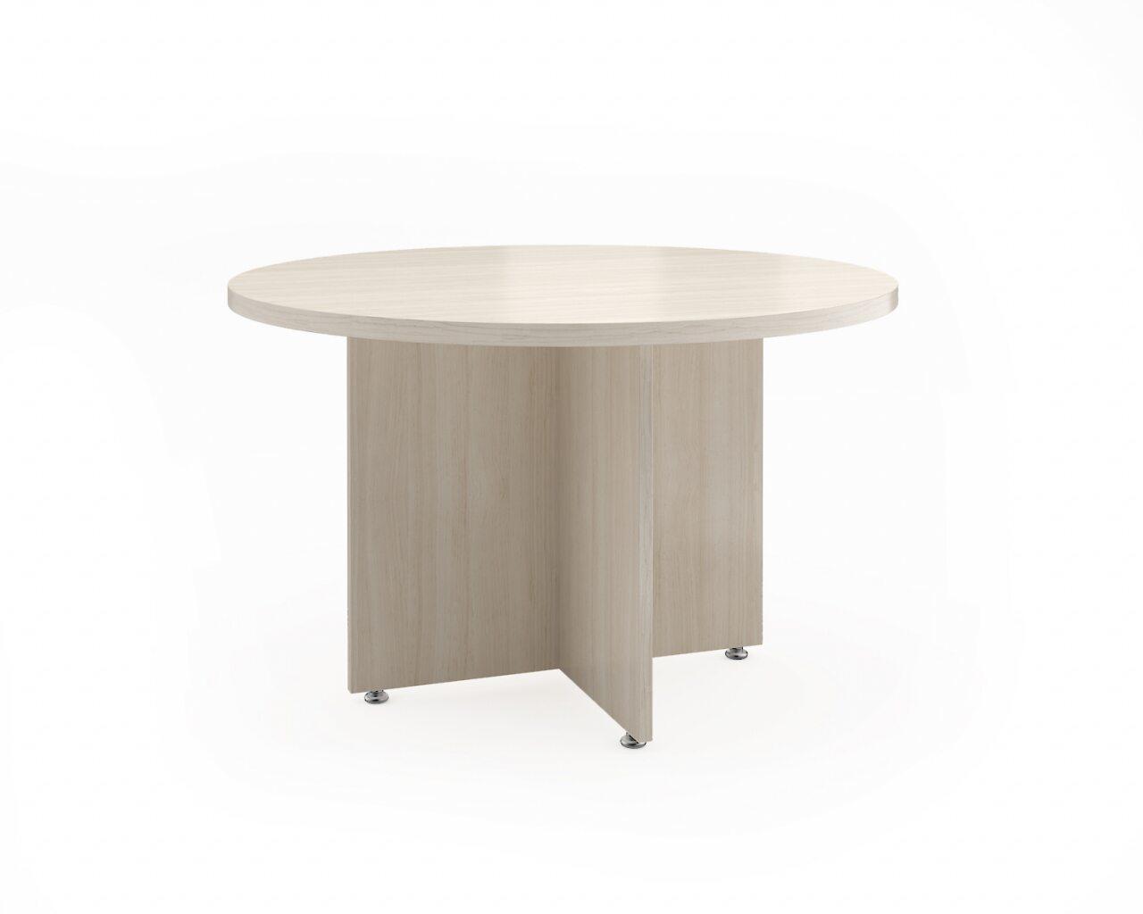 Стол для заседаний круглый Статус 120x120x75 - фото 1