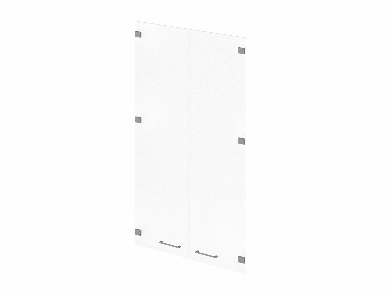 Двери средние стеклянные  Public Comfort 76x1x136 - фото 1