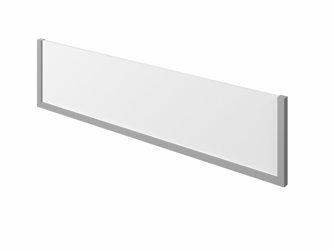 Экран ЛДСП с декоративными элементам  Public Comfort 150x4x37 - фото 1