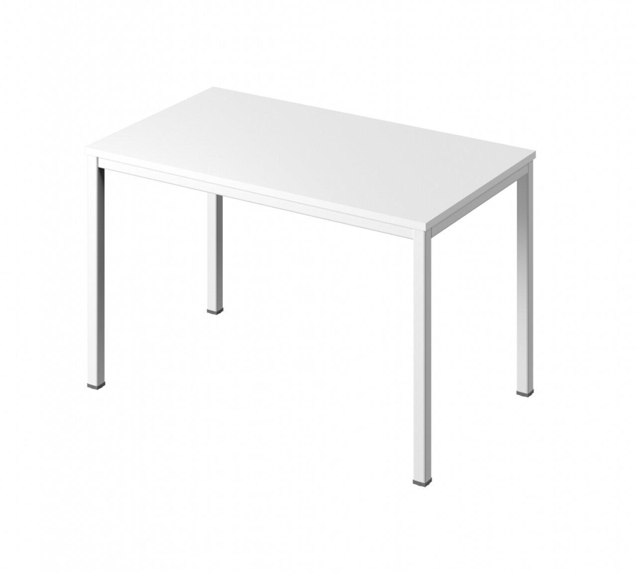 Стол на металлокаркасе без заглушек кабель-канала - фото 1