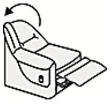 Кресельная секция с механизмом релакс (п/л справа от сидящего)