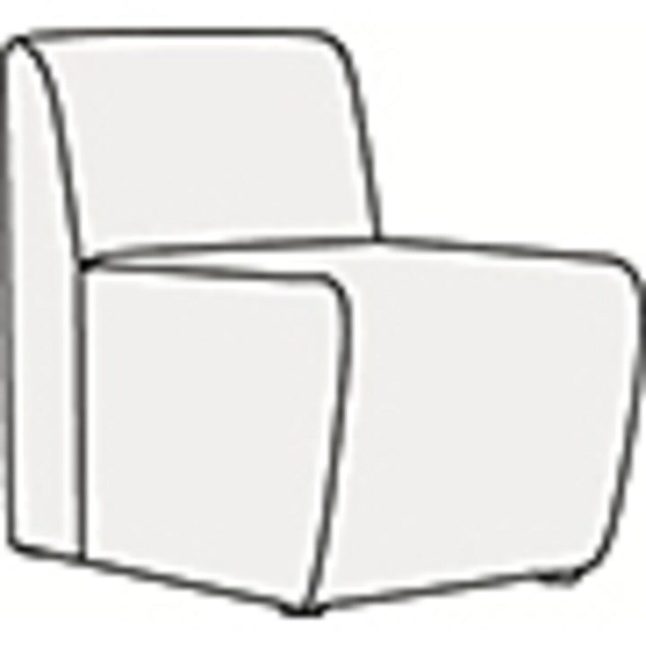 Кресло без подлокотников  ДУГЛАС 55x66x74 - фото 1