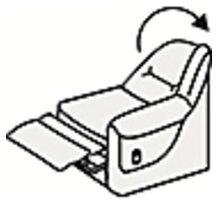 Кресельная секция с механизмом релакс (п/л слева от сидящего)