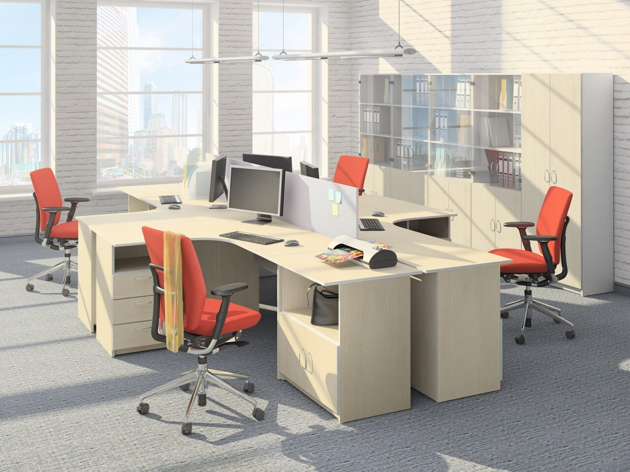 Мебель для персонала Бюджет - фото 1
