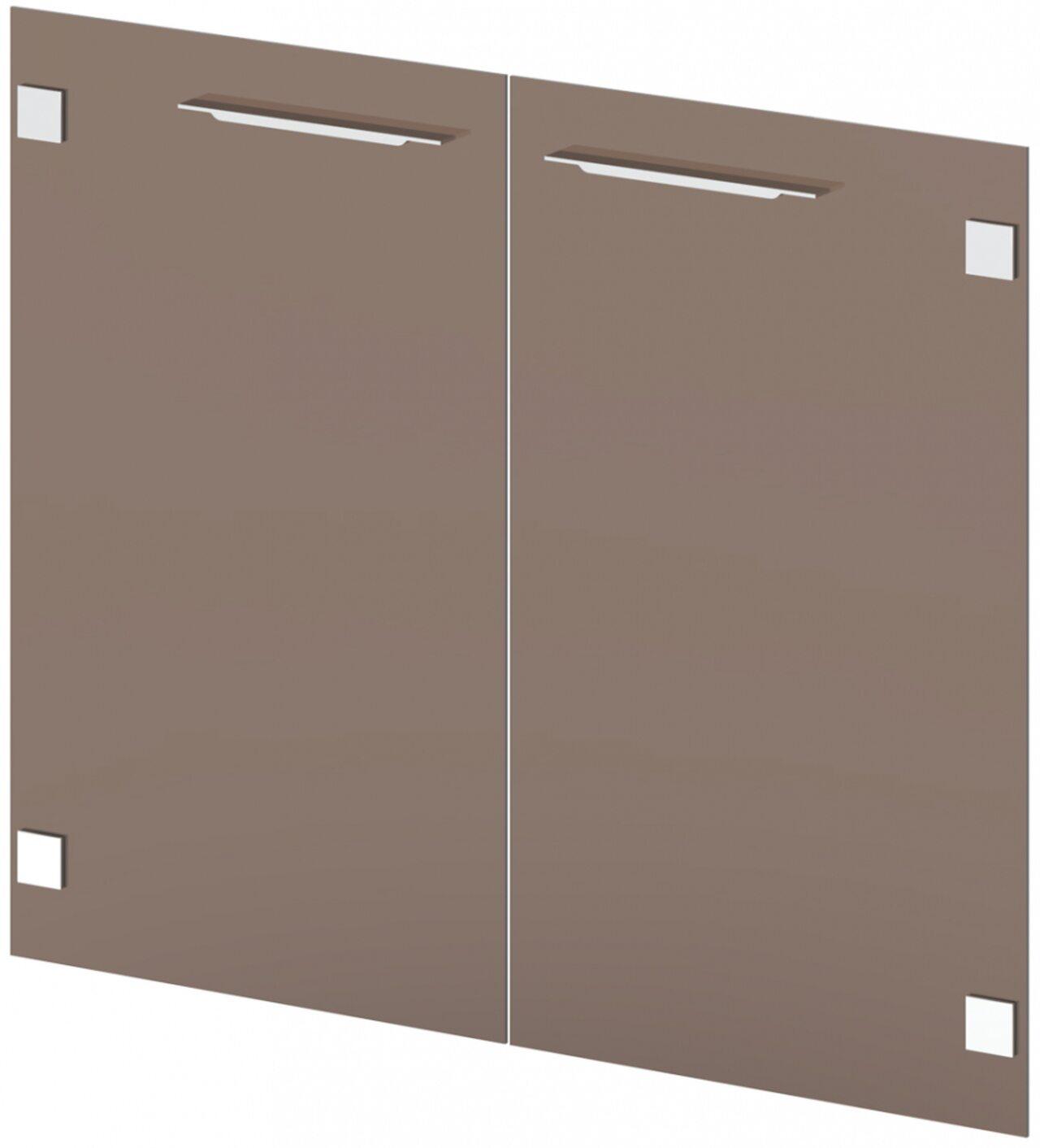 Двери стеклянные низкие - фото 1