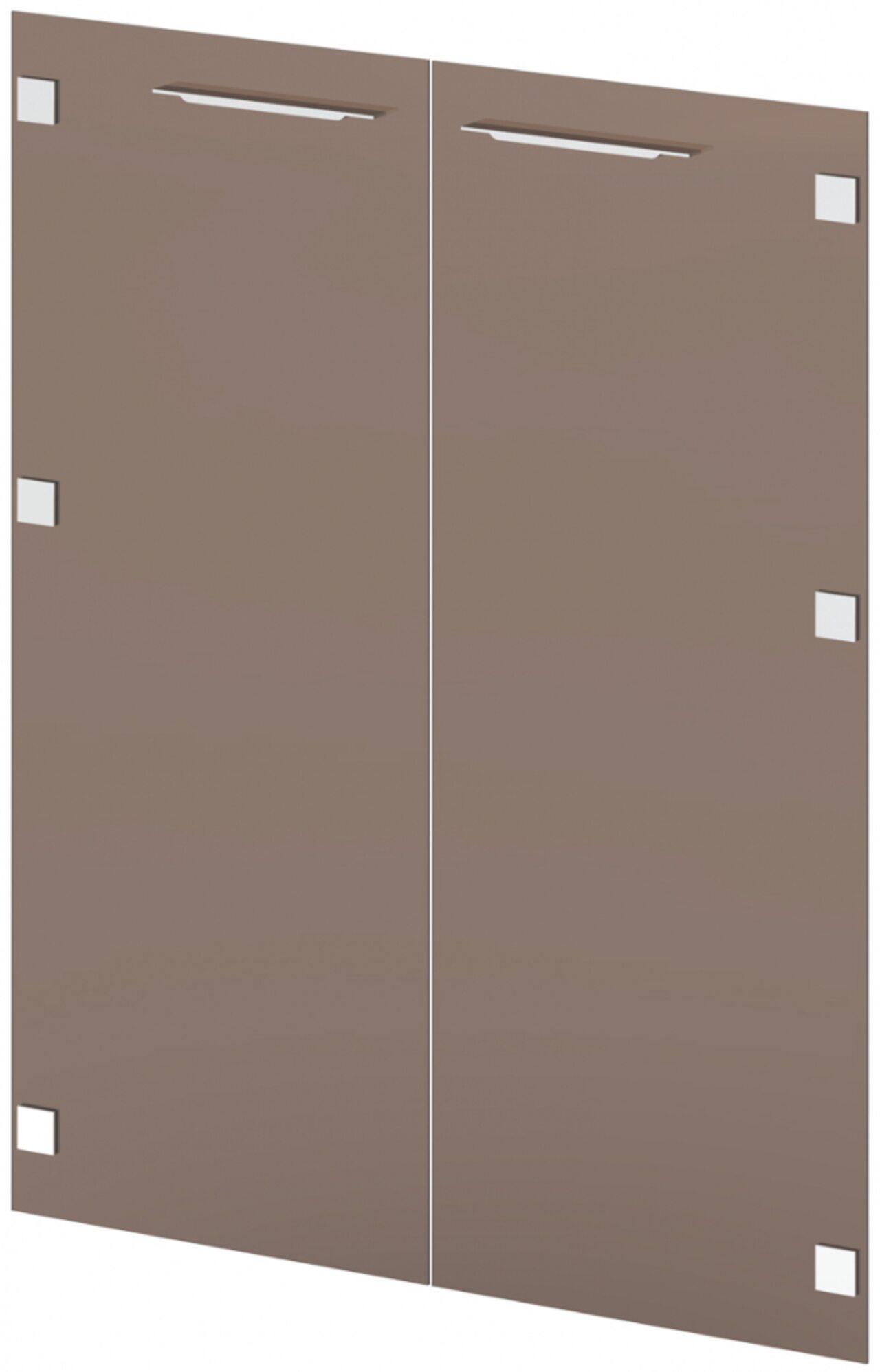Двери стеклянные средние  Grandeza 1x90x111 - фото 1