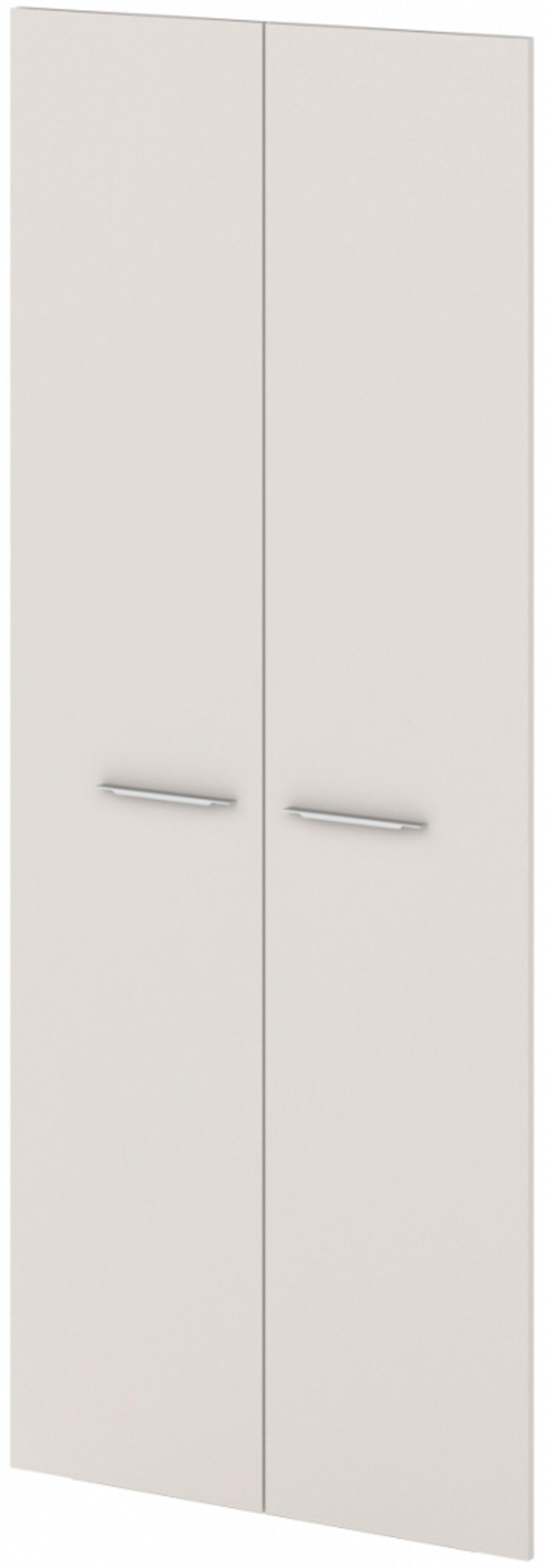 Двери ЛДСП высокие  Grandeza 2x90x221 - фото 1
