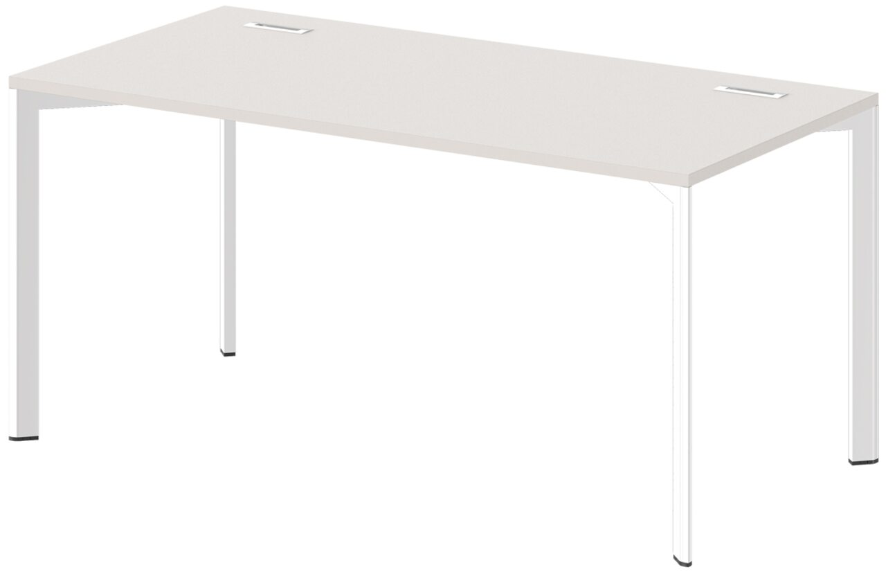 Стол на металлокаркасе  Grandeza 160x80x75 - фото 1
