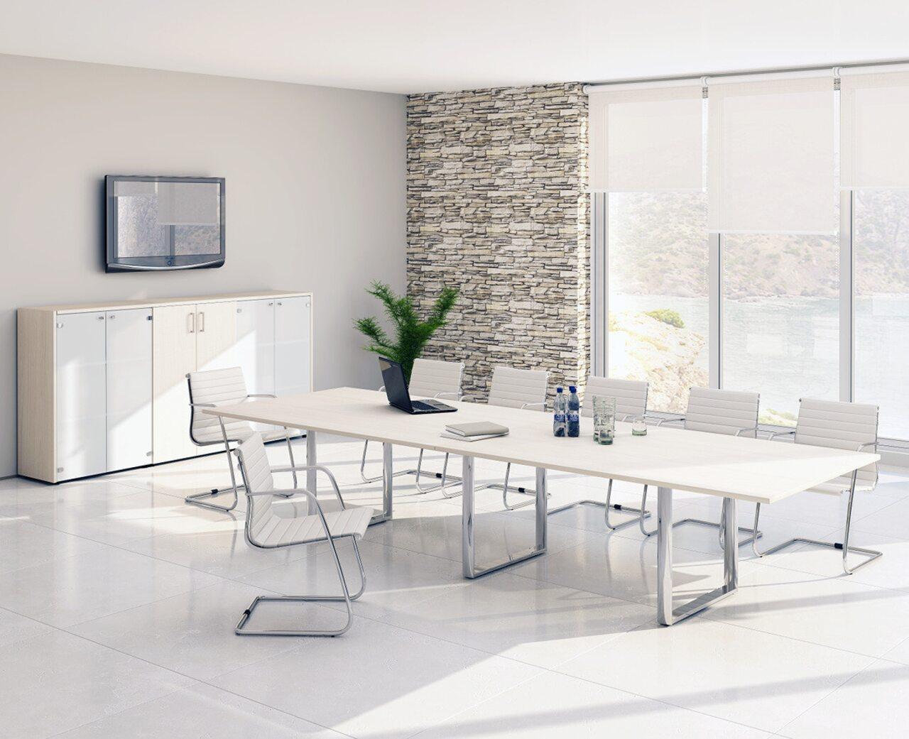 Стол для переговоров Orbis-Carre Meeting - фото 4