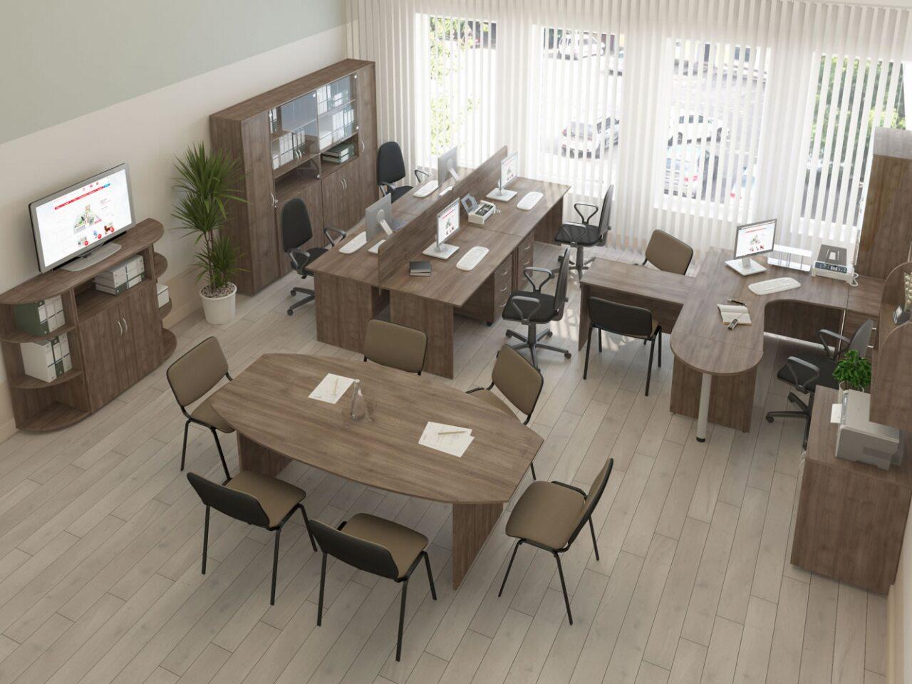 Стол для переговоров КОМФОРТ - фото 4