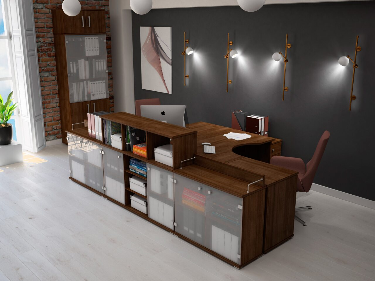 Мебель для персонала Space - фото 4