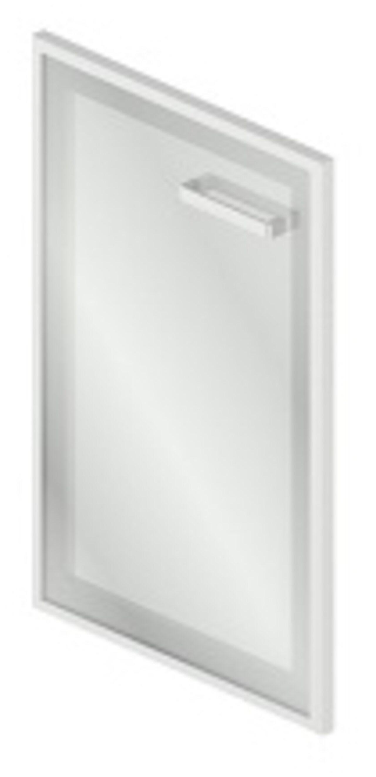 Дверь стеклянная в МДФ-рамке левая - фото 1