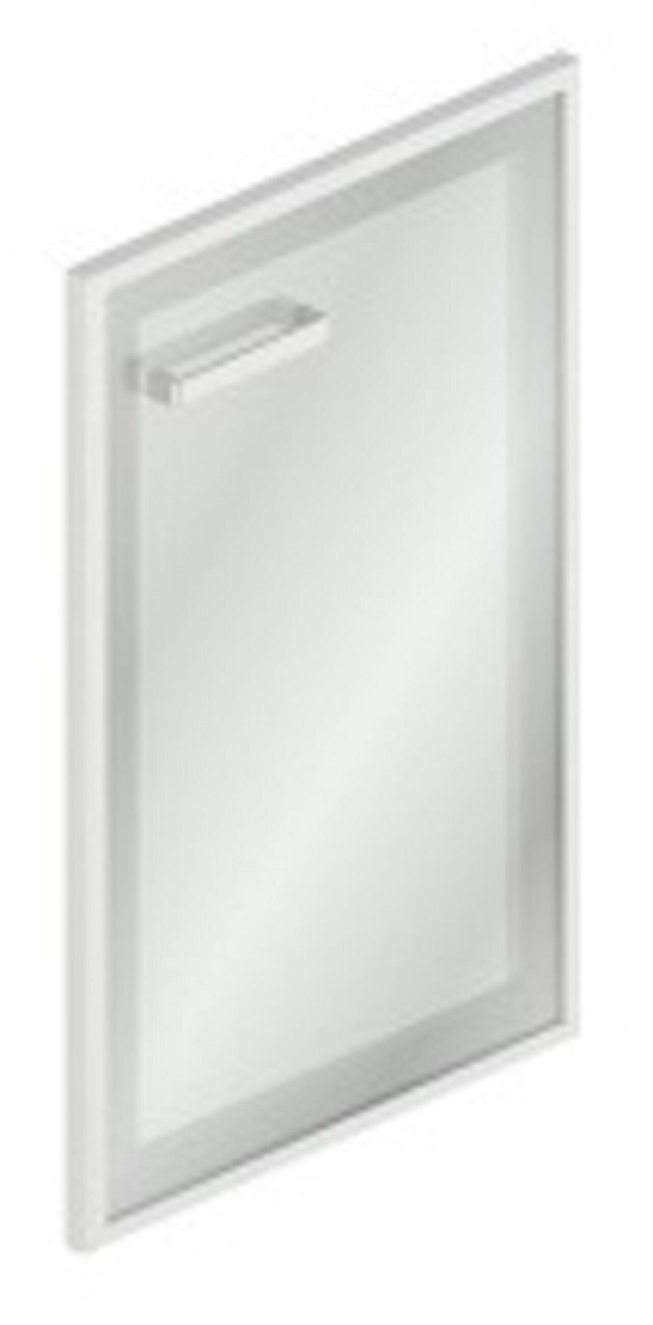 Дверь стеклянная в МДФ-рамке правая - фото 1
