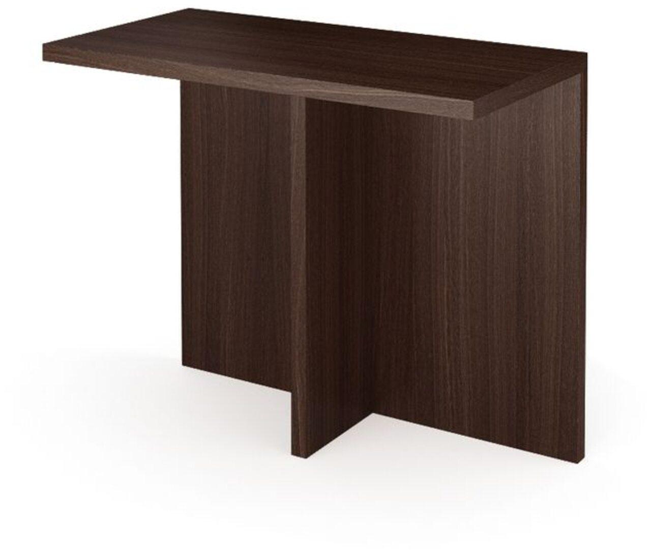 Окончание стола заседаний Акцент 135x90x75 - фото 1