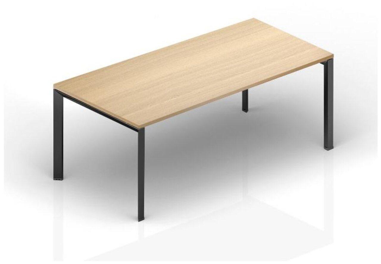 Стол руководителя на металлокаркасе  Акцент 170x90x75 - фото 1