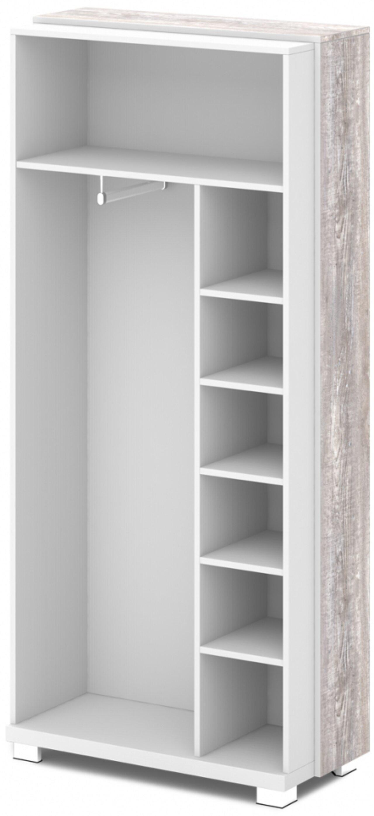 Каркас шкафа для одежды отдельностоящий  GRACE 44x94x205 - фото 1
