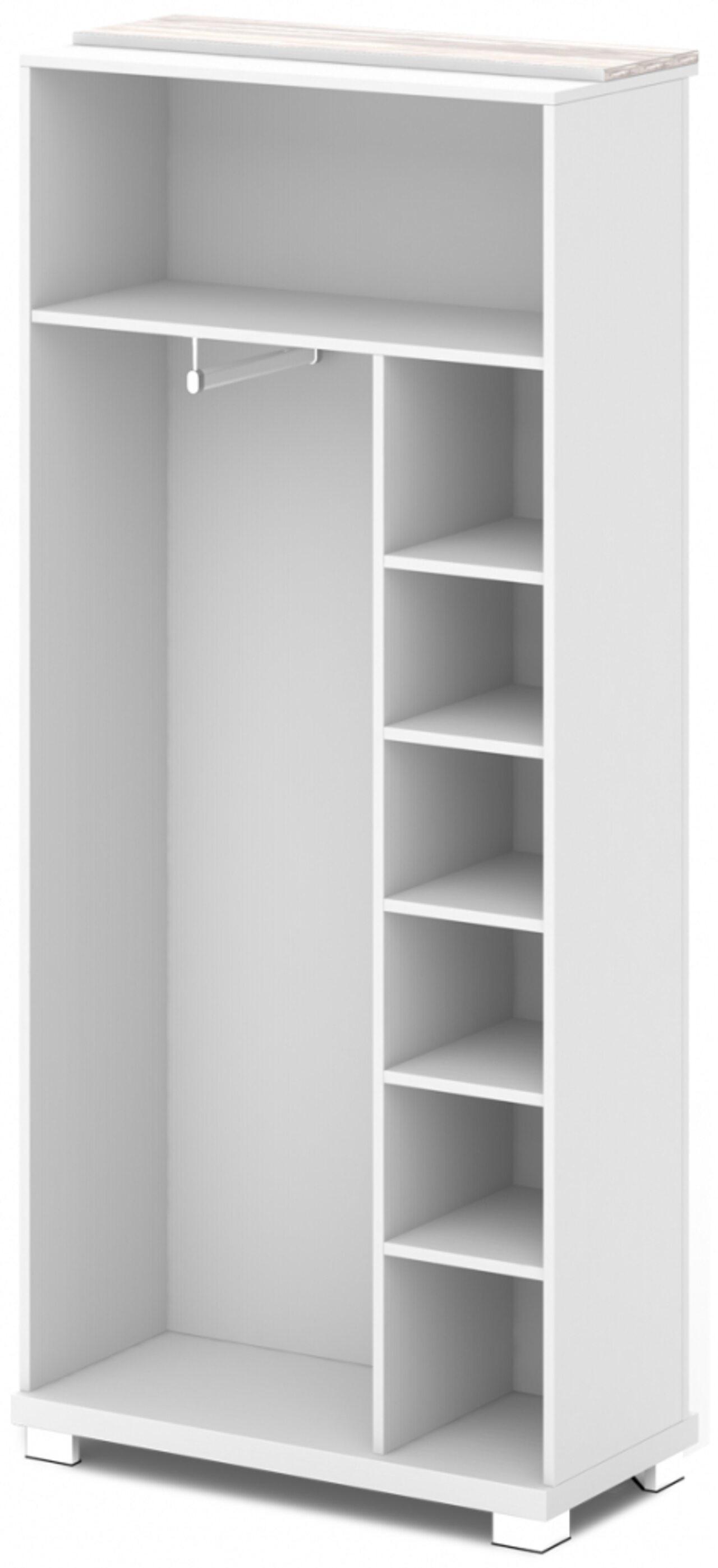 Каркас шкафа для одежды центральный  GRACE 90x44x205 - фото 1