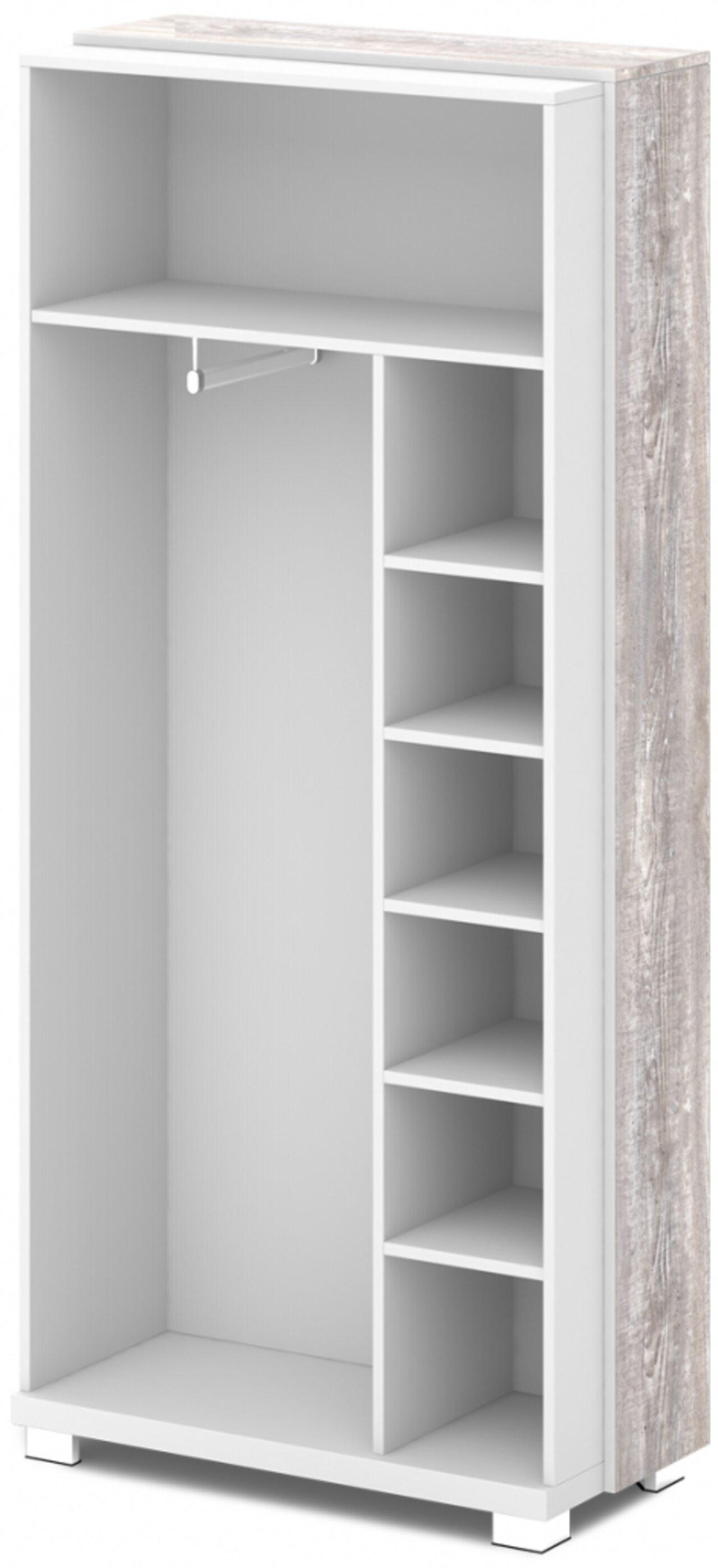 Каркас шкафа для одежды крайний - фото 1