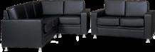 Мягкая офисная мебель А-02 Афина