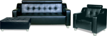 Мягкая офисная мебель А-04 Неаполь