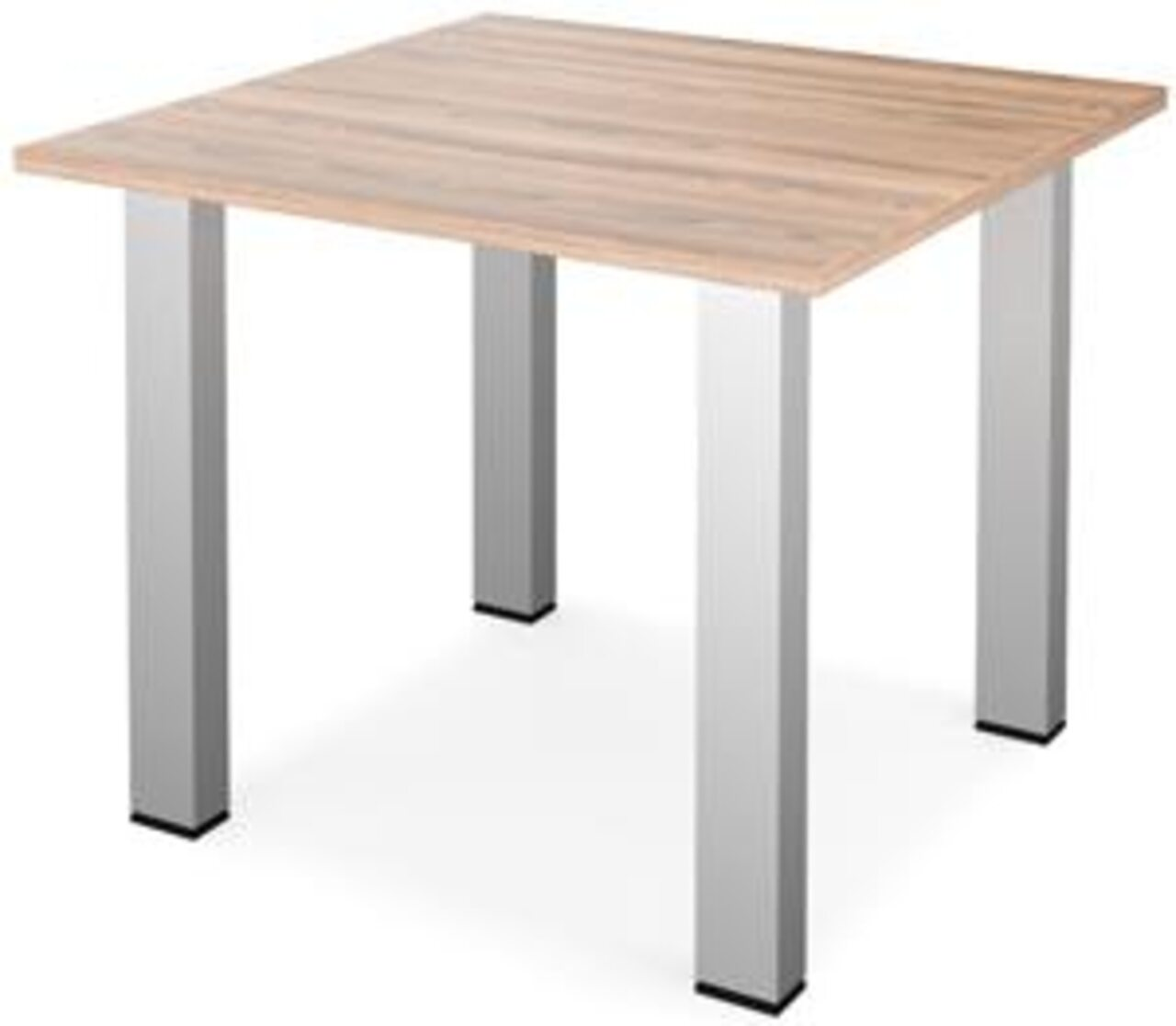 Стол для переговоров Аргентум 90x90x75 - фото 1