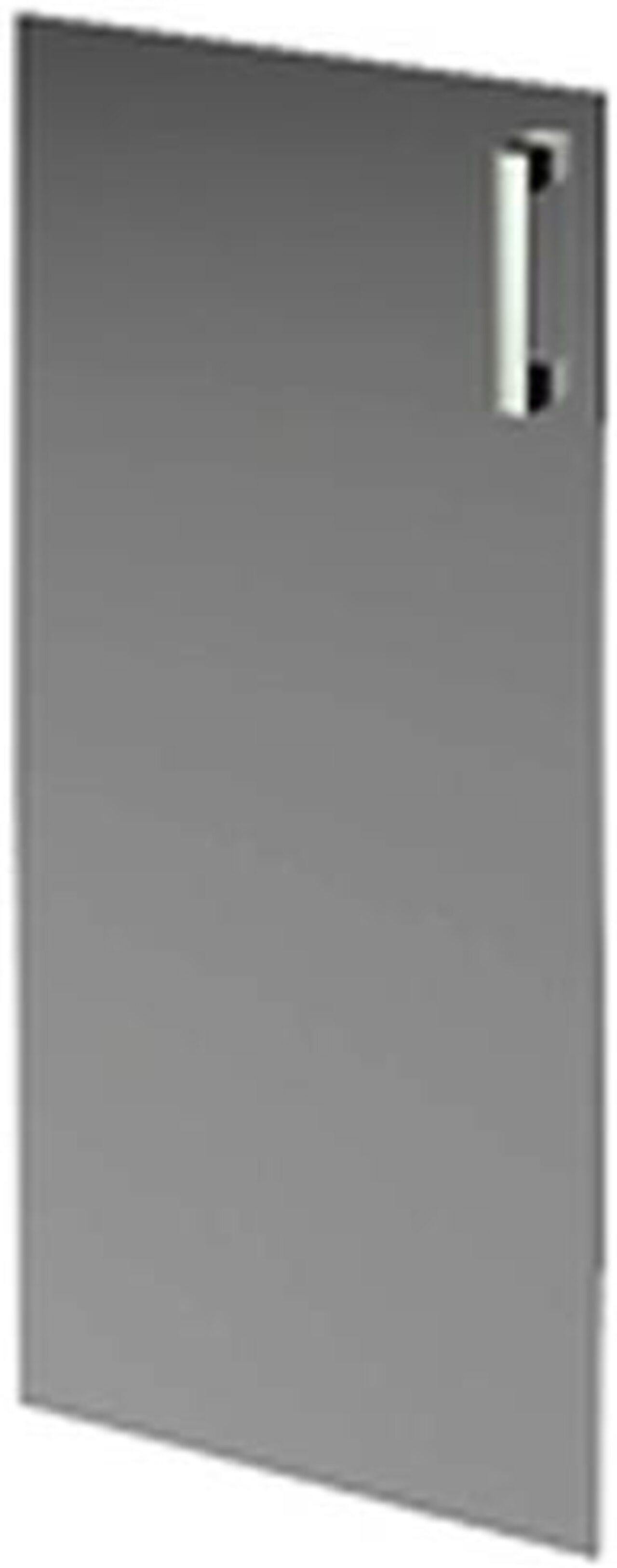Дверь средняя стеклянная  Аргентум 39x1x118 - фото 1