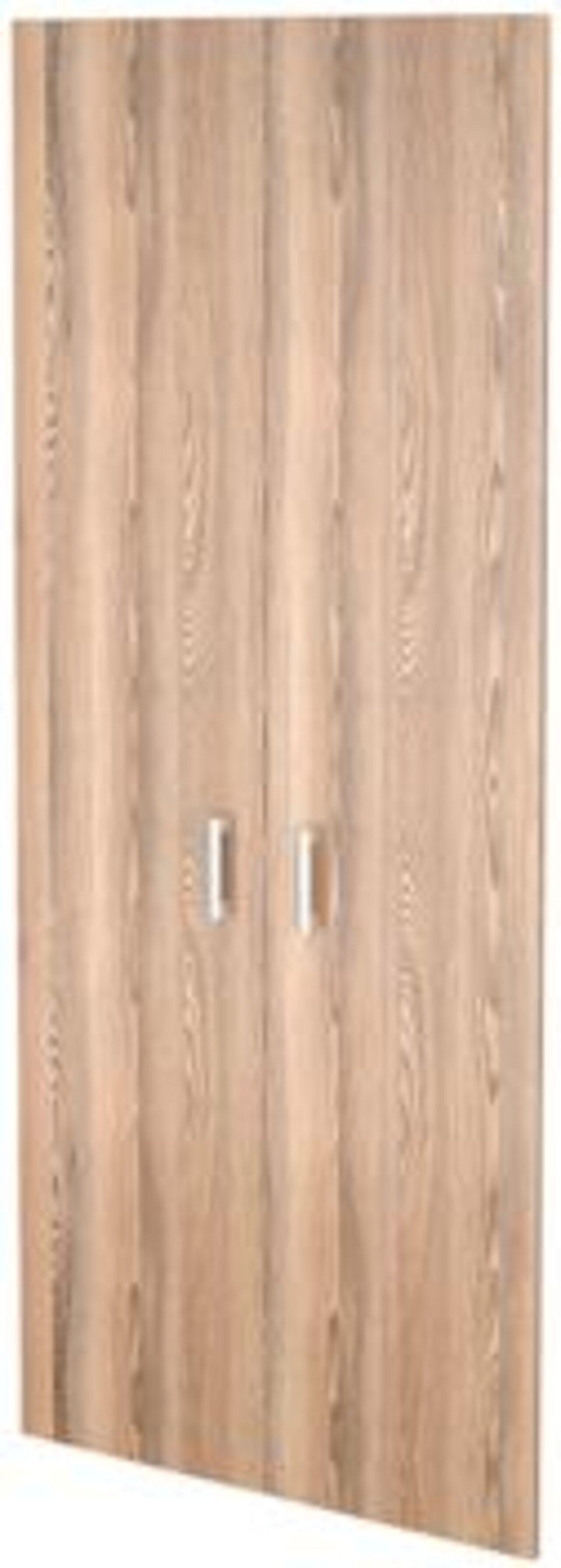 Двери из ЛДСП к широким стеллажам  Аргентум 78x2x195 - фото 1